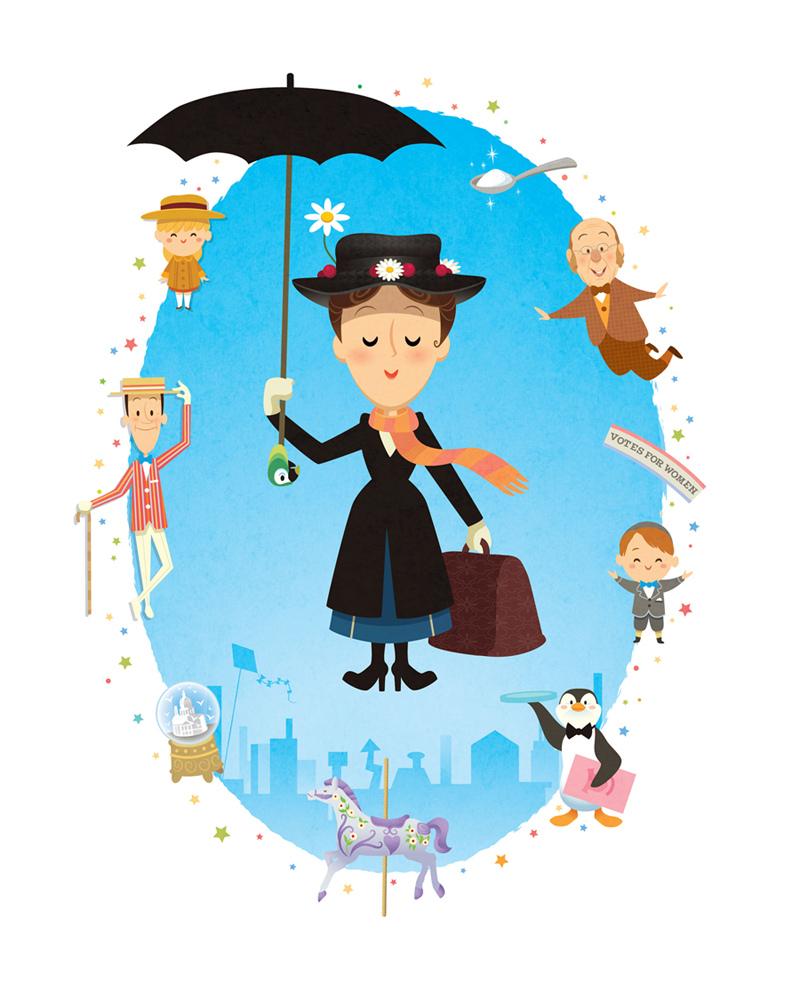800x982 Mary Poppins A Tribute To Mary Poppins! Jerrod Maruyama