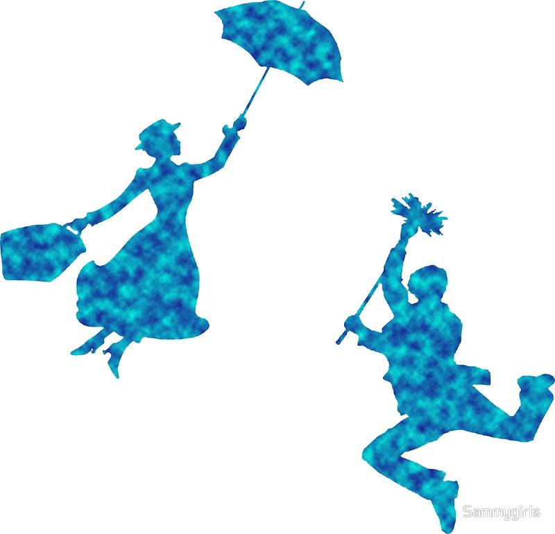 800x770 Mary Poppins 2 Stickers By Sammygirls Redbubble