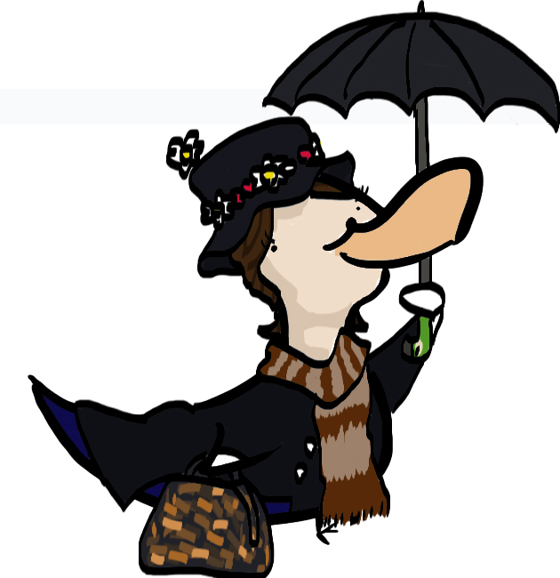 630x650 Mary Poppins Duck By Sicksikmans