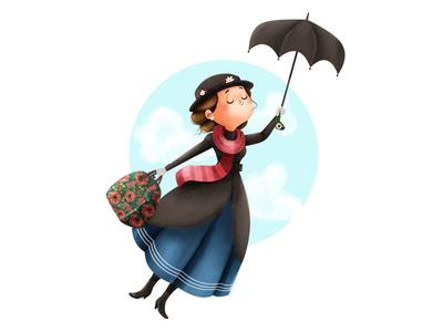 400x300 Mary Poppins Umbrella By Marta