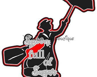 340x270 Mary Poppins Clipart Etsy
