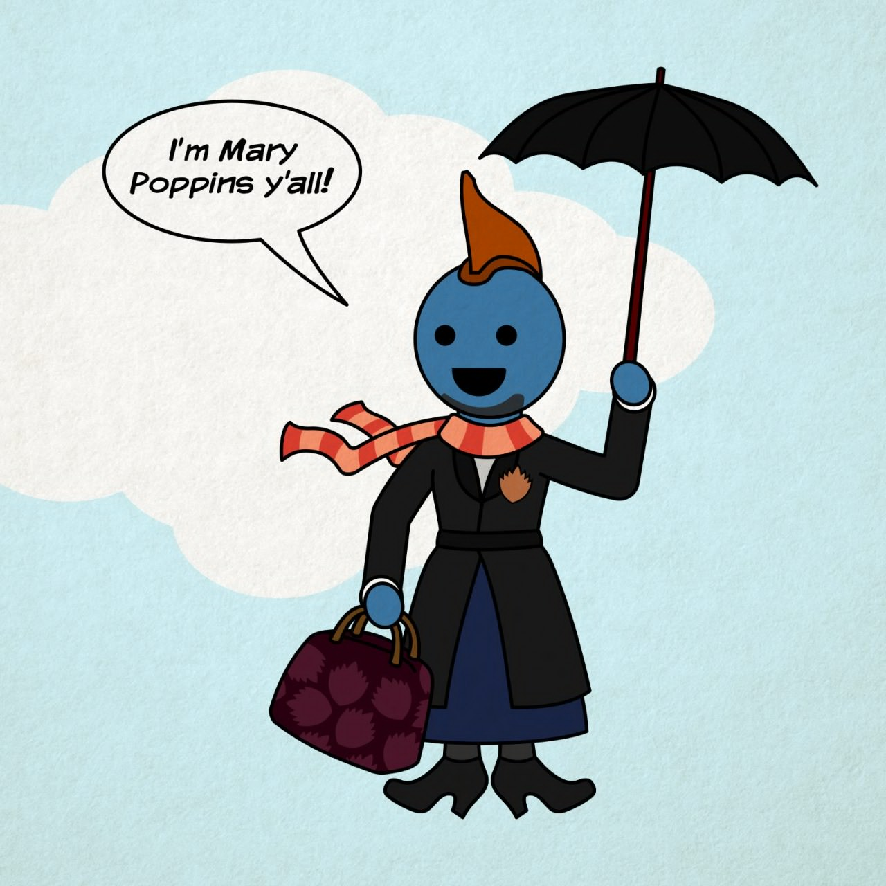 1280x1280 Mary Poppins, Y'All I'M Mary Poppins, Y'All Know Your Meme
