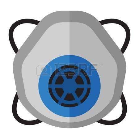 450x450 Respiratory Mask Clipart
