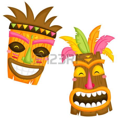 450x450 Tiki Mask Clipart Amp Tiki Mask Clip Art Images