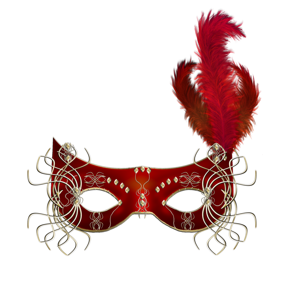 1024x1024 Red Mask Clipart Clipart Masking, Carnival