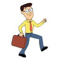 195x188 Office Clipart Office Man
