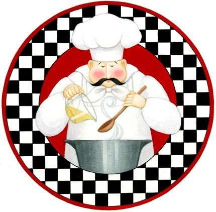 430x422 Chef With Pot (Stephanie Stouffer) Printables For Decoupage