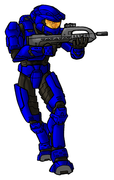 383x606 Halo 2 Master Chief By Art Minion Andrew0