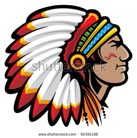 450x453 Impressive Indian Chief Pictures Clip Art Mascot Stock Images