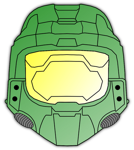 447x500 Collection Of Master Chief Helmet Clipart High Quality, Free