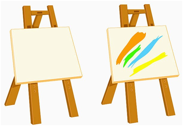 612x422 Canvas Clipart Inspirational Royalty Free Artist Painting His