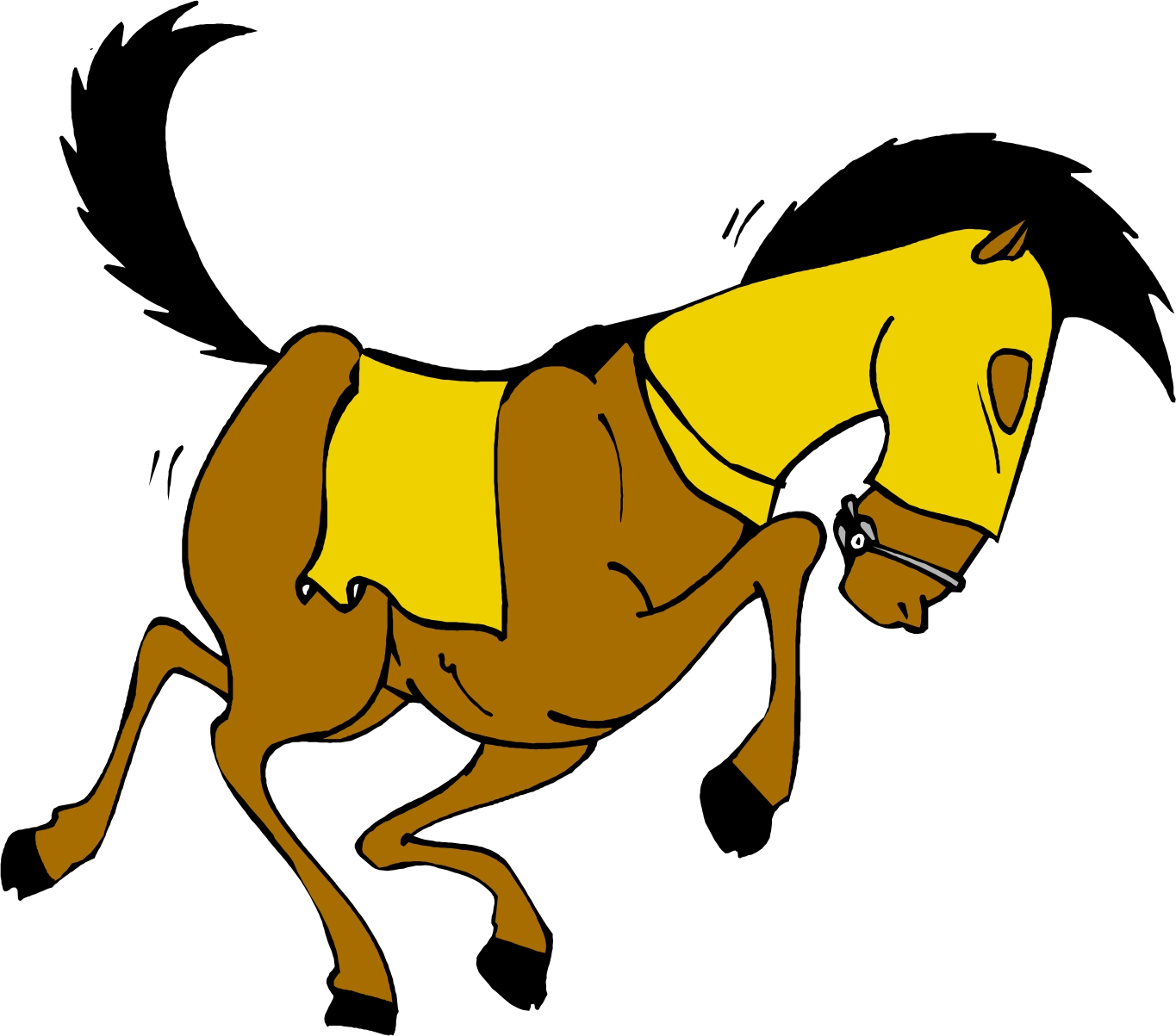 1365x1203 Anime Clipart Animated Horse