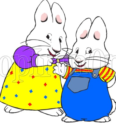 380x408 Max And Ruby Iron On Transfers