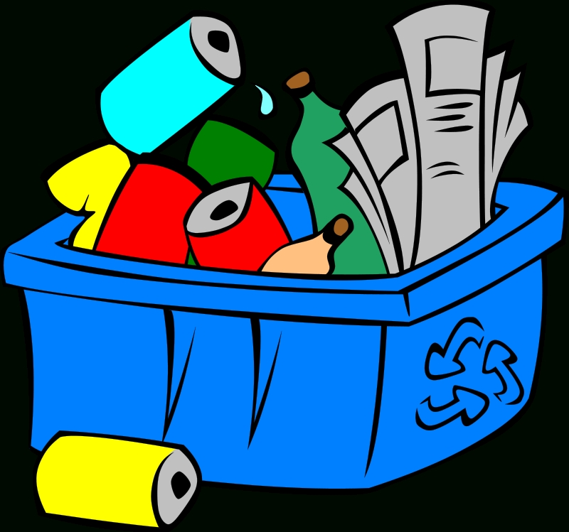800x749 Recycle Cans Clipart