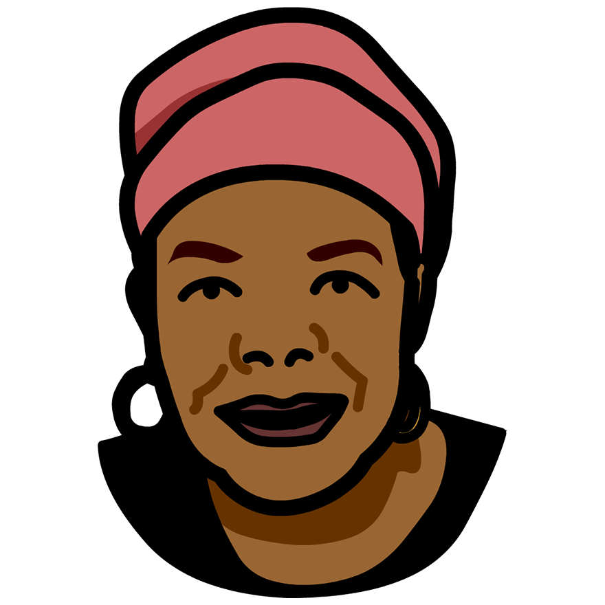 Maya Angelou Clipart