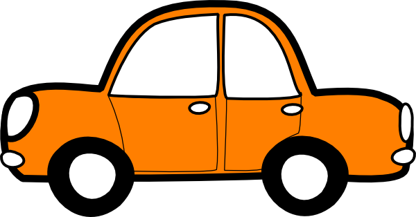600x314 Orange Car Clip Art Eskay