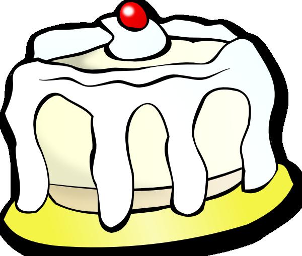 600x509 Clip Art Vanilla Ice Cream Cake Clipart