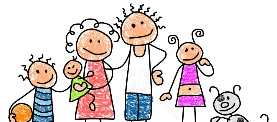 940x415 My Family Clipart