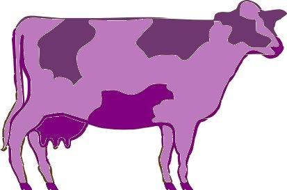 413x273 Purple Cow Clipart Amp Purple Cow Clip Art Images