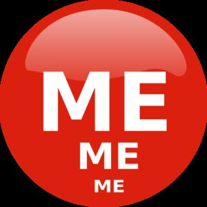 300x300 Me, Me Me Clip Art