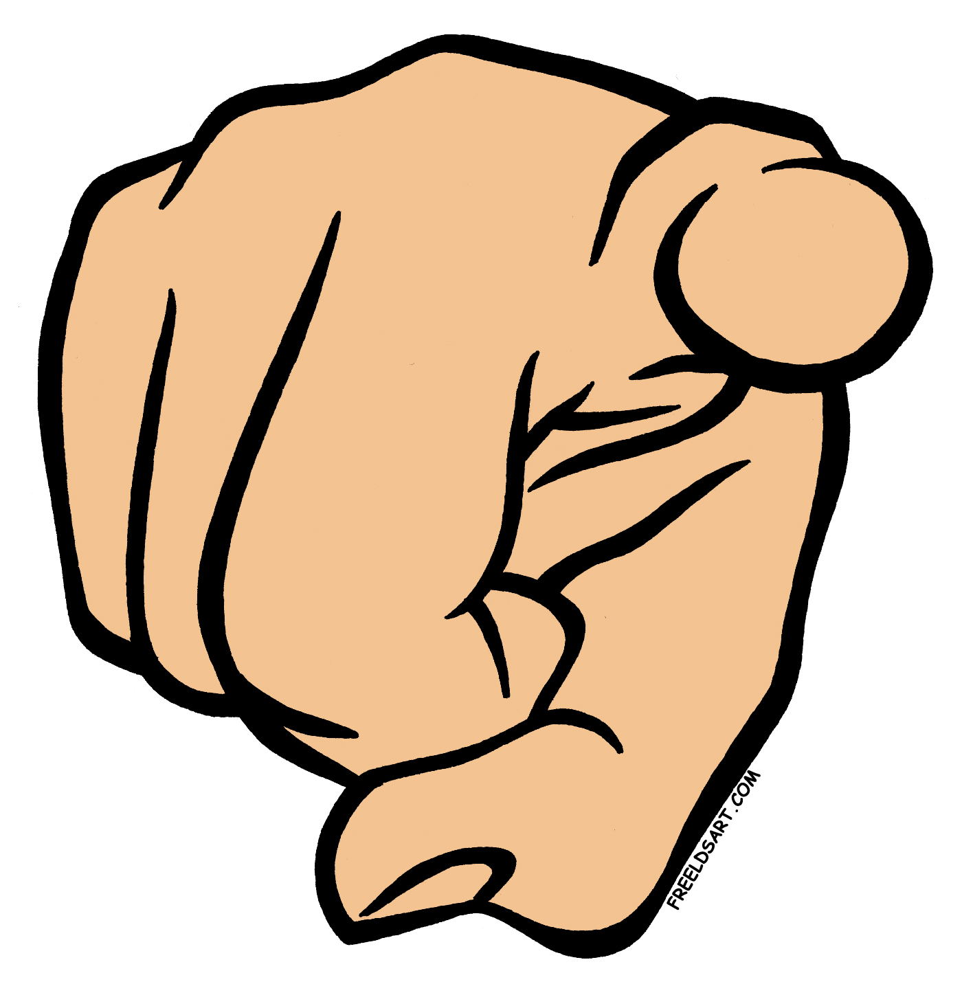 1400x1464 Me Pointing Finger Clipart