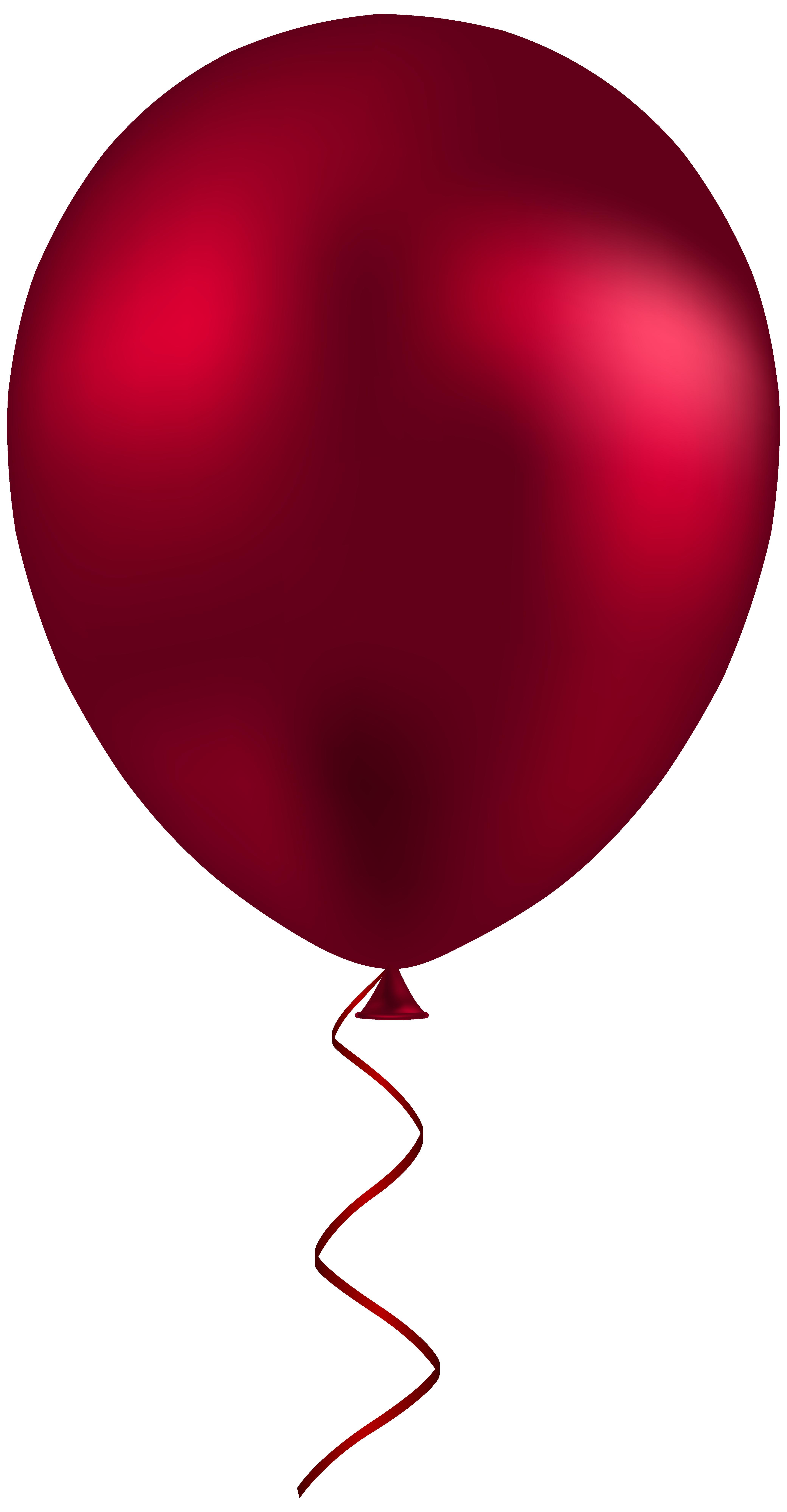 4162x8000 Red Balloon Png Clip Art Best Web Clipart