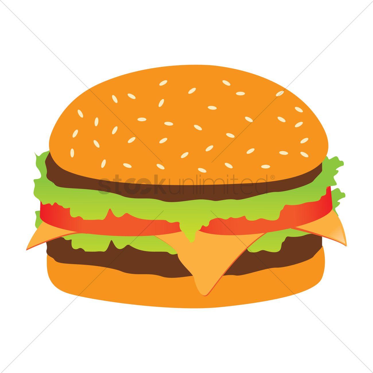 1300x1300 Skillful Burger Clipart Bun Clip Art Free Vector 24 Graphics Me