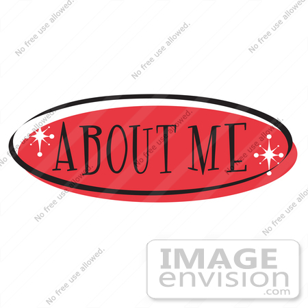 450x450 About Me Clipart Royalty Free Cartoon Clip Art Of A Red About Me