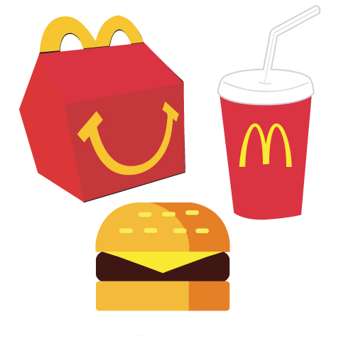 480x480 Collection Of Mcdonalds Happy Meal Clipart High Quality