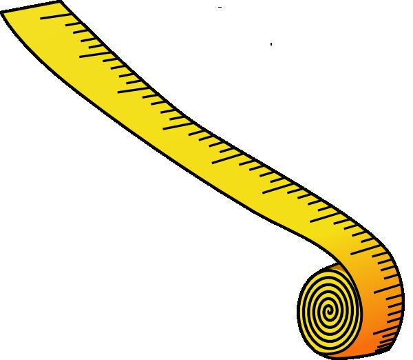 600x522 Measuring Tape Clip Art Free Vector 4vector