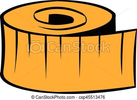 450x329 Measuring Tape Icon, Icon Cartoon. Measuring Tape Icon