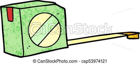 450x207 Cartoon Tape Measure Vector Illustration