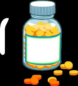 271x300 Medicine Bottle Clipart Blank Pill Bottle Clip Art