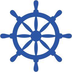 236x236 Nautical Wheel Clipart