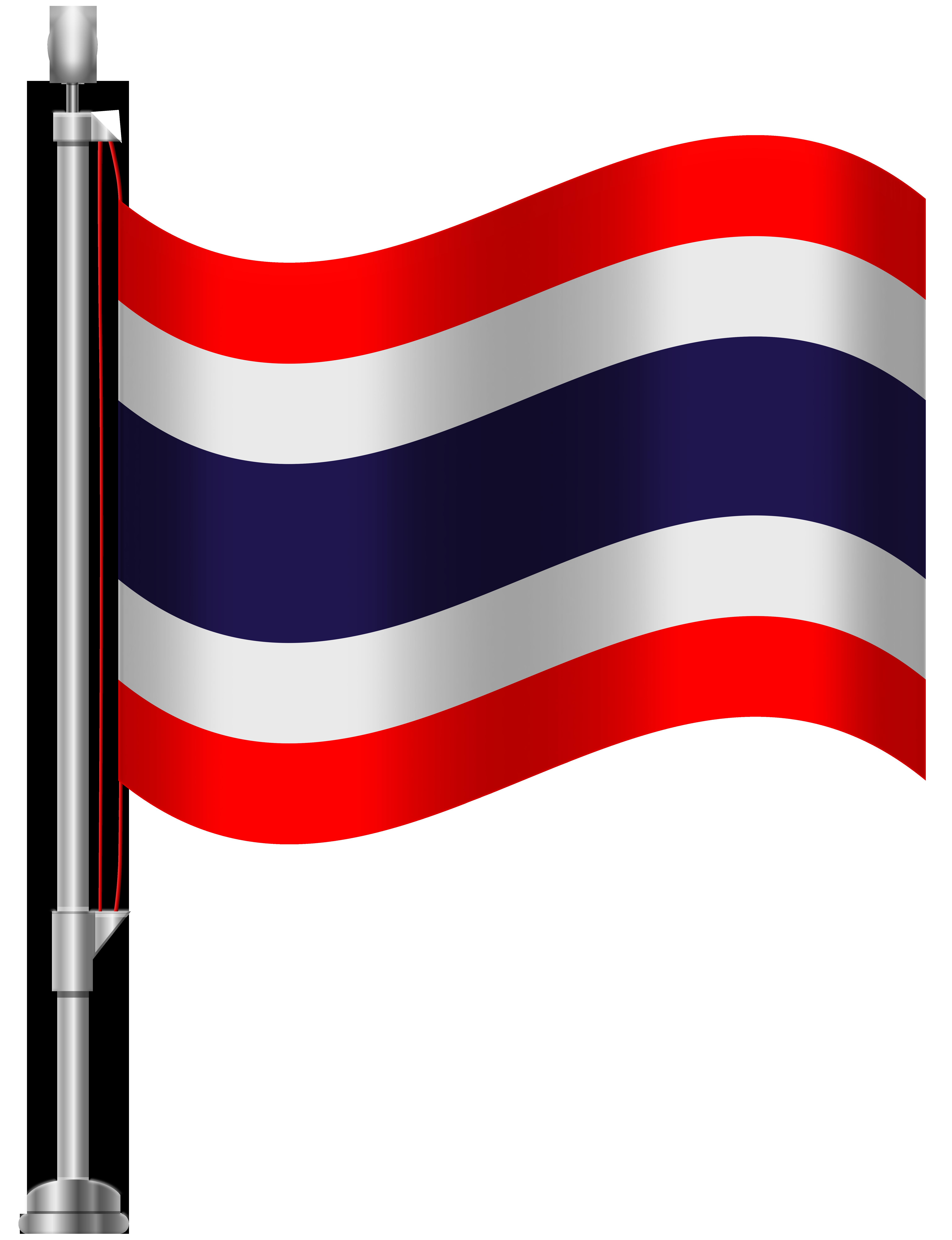 6141x8000 Thailand Flag Png Clip Art