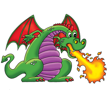 Medieval Dragon Clipart