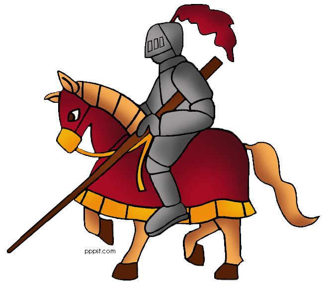 Medieval People Clipart