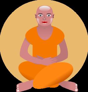 282x298 Meditation Clip Art
