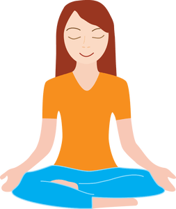 253x300 Collection Of Inner Peace Clipart High Quality, Free