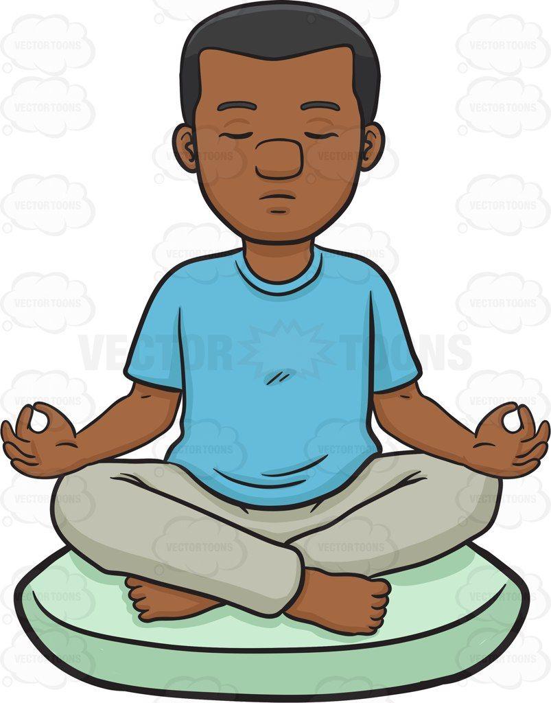 803x1024 Boy Meditating Cliparts Free Download Clip Art