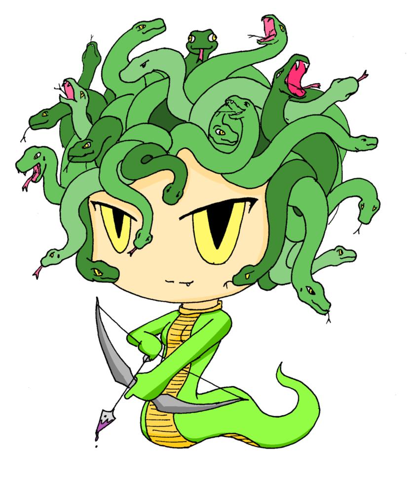825x968 Medusa, The Gorgon(Bulletin Project) By Skyarchfiendmayler