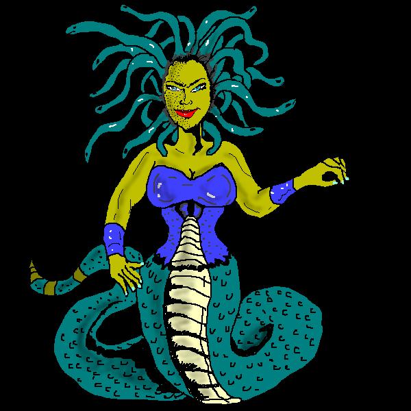 600x600 Free To Use Amp Public Domain Medusa Clip Art Medusa