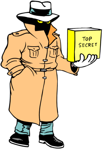 350x508 Interesting Secret Agent Clipart Hat Pencil And In Color