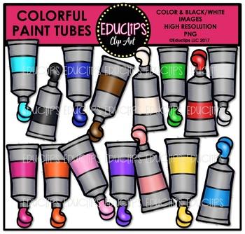 350x334 Colorful School Supplies Clip Art Mega Bundle {Educlips Clipart