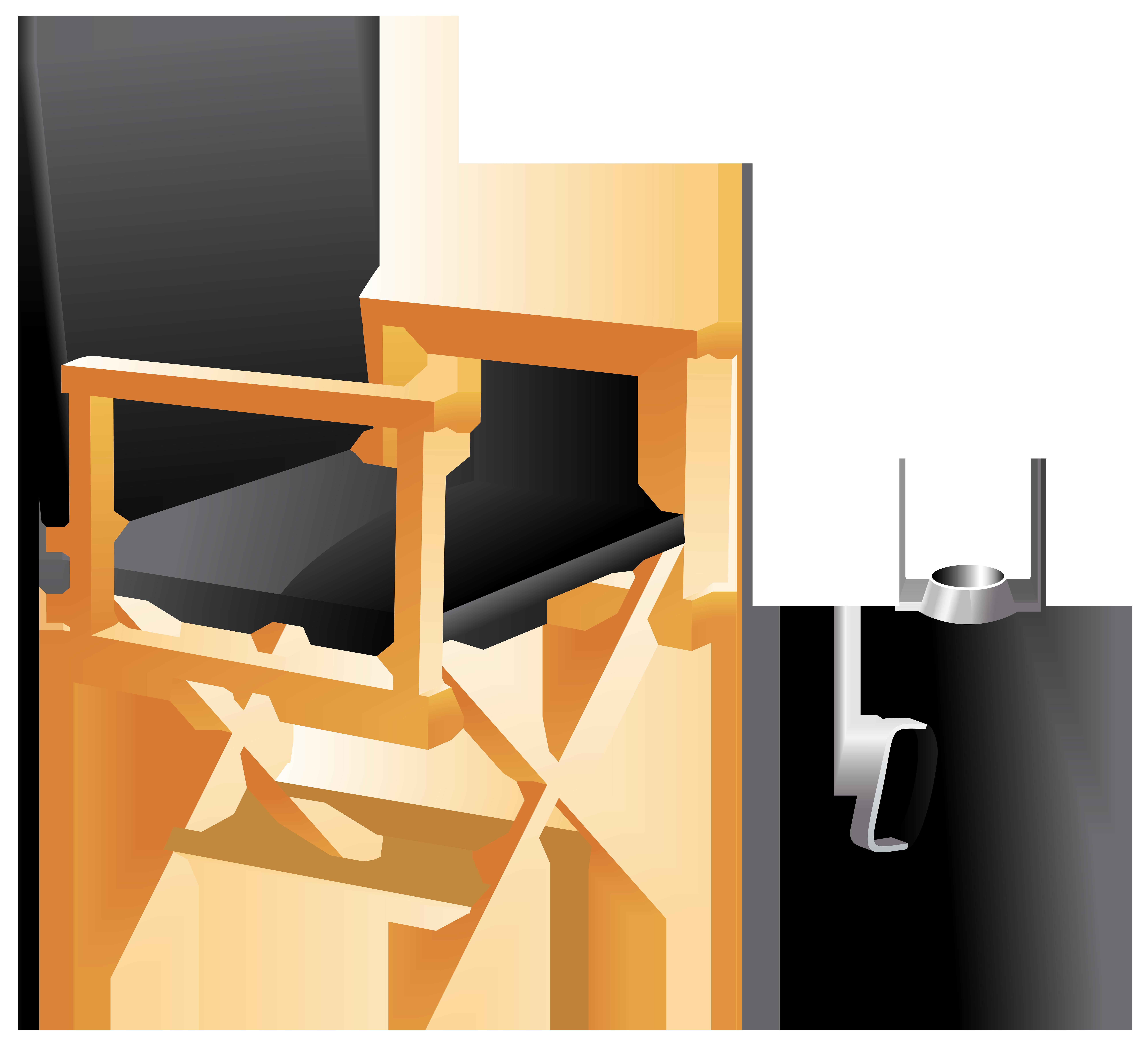 8000x7289 Directors Chair And Megaphone Png Clip Art