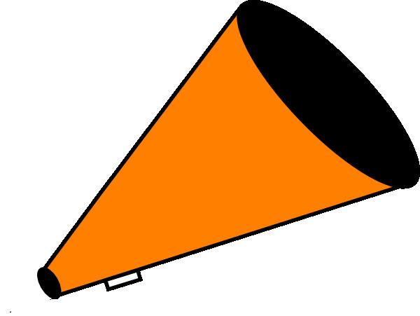 600x451 Megaphone Orange Clip Art