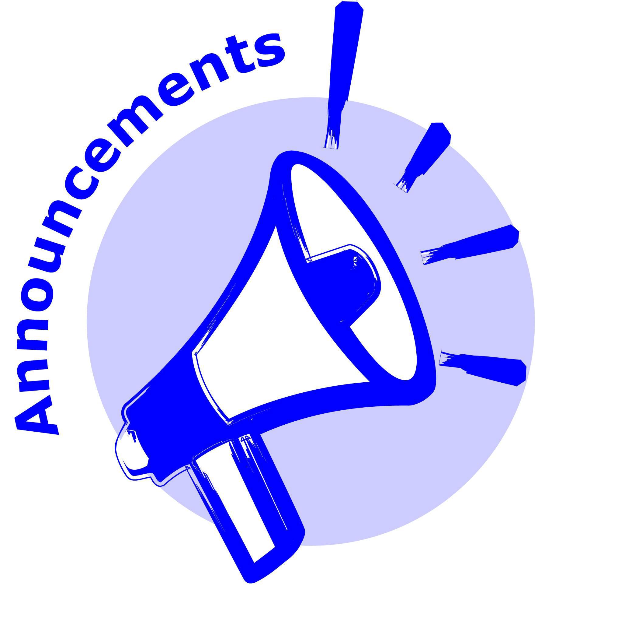 2078x2109 Announcement Clip Art Amp Announcement Clipart Images