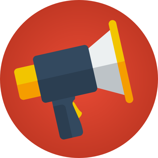 512x512 The Top 5 Best Blogs On Red Megaphone Png