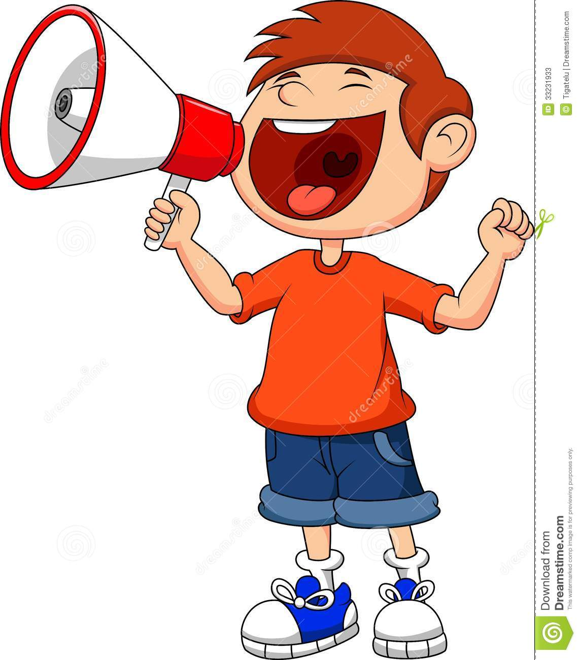 1143x1300 Yelling In Megaphone Clipart Image