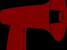 220x165 Free Megaphone Clipart Red Megaphone Clip Art